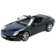 Maisto 1:18 Scale Porsche 911 Carrera S Cabriolet Diecast Vehicle (Colors May Vary)