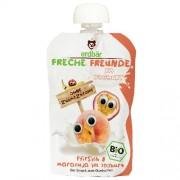 Piure de Piersici, Maracuja si Iaurt Bio 100gr Erdbar