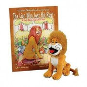 The Lion Who Lost His Roar Book & Plush Lion