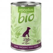 6x800g zooplus Bio pulyka nedves kutyatáp kölessel
