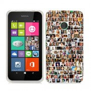 Husa Nokia Lumia 530 Silicon Gel Tpu Model Small Portraits
