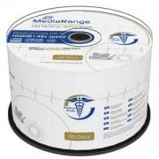 CD-R MediaRange Medical Line 700MB, 80min 48x speed, inkjet fullsurface printable, Cake 50