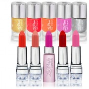 Pack of 10 High Quality Nail Paint Lipstick-BY Laperla