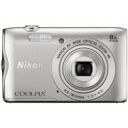 Nikon Coolpix A300 Silver VNA960E1 srebreni digitalni kompaktni fotoaparat VNA960E1
