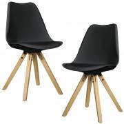 """[en.casa] 2 ks sada židlí HTMS-2851 """"Annika"""""""