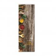 Styler Nástěnné hodiny Styler Glassclock Spice, 20 x 60 cm