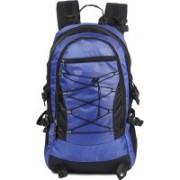 Surya bags industries Surya Polyester 60 Liter Black & Royal Blue Travel Bag Backpacking Backpack for Outdoor Hiking Trekking Camping Rucksack Rucksack - 60 L(Blue)