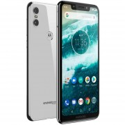 Celular MOTOROLA MOTO ONE 3GB 32GB Android 8.1 Octa Core Blanco