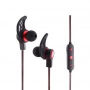 BQ AMW-50s magnetische Wireless Bluetooth In-Ear hoofdtelefoon met microfoon & antwoord oproepen & muziek schakelaar voor slimme telefoons & iPad & Laptop & Notebook & MP3 of andere Bluetooth Audio Devices(Red)