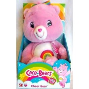 "Care Bears Cheer Bear 13"" Plush Doll Toy Without Box"