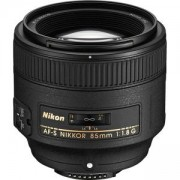 Обектив Nikon AF-S 85mm f/1.8G Nikkor Lens for Nikon Digital SLR Cameras
