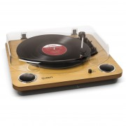 ION Max LP Wood Digital Conversion Turntable