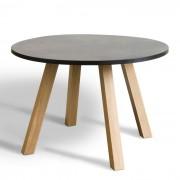 Ronde tafel Jacon Ø120 cm met omkeerbaar pootgedeelte
