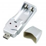 ER Nueva Recargable NiMH AA AAA De La Alta Capacidad Del Cargador USB.