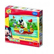 PUZZLE DE PODEA - MICKEY MOUSE LA PESCUIT (24 PIESE) (350038)