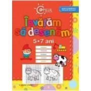 Copilul destept - Invatam sa desenam 5-7 ani Ed.2013