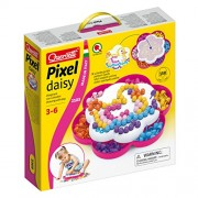 Quercetti Pixel Daisy 15Mm Drawing with Pegs, White