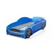 Детско легло тип кола Мустанг Light в син цвят