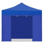 E-R Carpa plegable 3x3 resistente al agua Eco. Color Azul. 4 laterales