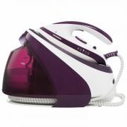 Statie de calcat HIS-D3007IX, 3000 W, Talpa ceramica, 1.8 l, Alb / Violet