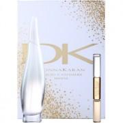 DKNY Liquid Cashmere White coffret II. Eau de Parfum 100 ml + roll-on 10 ml