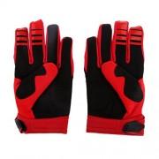 ELECTROPRIME Fox Racing Race Gloves - Motocross ATV Dirt Bike Gear Red L Size