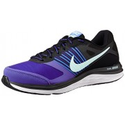 Nike Women's DUAL FUSION X MSL Black,Artisian Teal,Persian Volt,White Running Shoes - 5 UK/India (38 EU)(5.5 US)