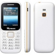 My Max 310 Dual Sim Mobile Phone With 1.8 Inch Display 1050 Mah Battery With Vibration (White Color)