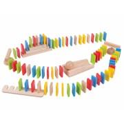 Domino din lemn, 108 piese, 3 ani+