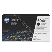 Тонер HP 504X за CP3525/CM3530 2-pack, Black (2x10.5K), p/n CE250XD - Оригинален HP консуматив - к-т 2 тонер касети