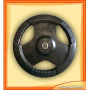 Rubber plate with grip (15 kg)