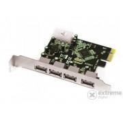 Extensie port Approx APPPCIE4P 4 USB 3.0 PCI-E