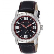 Fastrack Quartz Black Round Men Watch 3021SL04