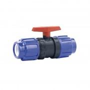 Válvula de bola Cepex PVC conexión PE x PE - Ø 16