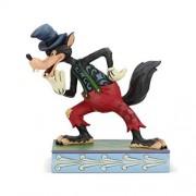 Enesco Disney Traditions by Jim Shore Three Little Pigs The Big Bad Wolf Figurine, 15,5 cm, Multicolor
