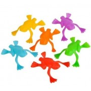 Plastic Jumping Frogs - 144 Piece Pack Frog Jump Game - Frog Jumping Toy - Makes Great Carnival Prizes, Party Favors, Easter Egg Fillers, Goody Loot Bag, Toy Pinata Filler - Leaping Frogs by Neliblu