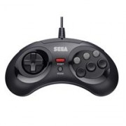 Controller Retro Bit SEGA MD 8 Button USB Black PC