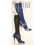 Gerbe - Opaque gloss support knee highs Futura 40