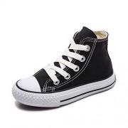Daniel Secret Sneakers Zapatillas de Lona con Cordones B12031 para niños, Estilo Informal, Unisex, Estilo clásico, para niñas, Azul, 11 Narrow Little Kid