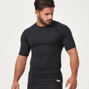 Myprotein Charge Compression Short-Sleeve Top - S - Black