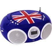 BIGBEN Draagbare radio CD Union Jack (CD32GB)