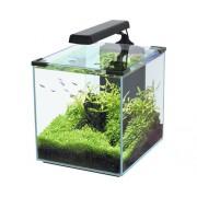 Acvariu Aquatlantis Nano Cubic, fara dulap inferior, negru 30 l