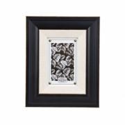 Rama foto Trimar Shabby Chic alb- negru 10 x 15 cm