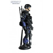 12' 1/6 Action Figure SWAT Team Breacher Soldiers Model Playset