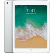 "Apple iPad 9.7"" (2018) 32GB Wifi with Rounded Edges Tempered Glass Screen Protector - Silver (with 1 year official Apple Warranty)"