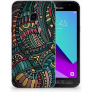 Samsung Galaxy Xcover 4 TPU Hoesje Design Aztec