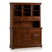 Oak Furnitureland Solid Hardwood Dressers - Large Dresser - Cranbrook Range - Oak Furnitureland