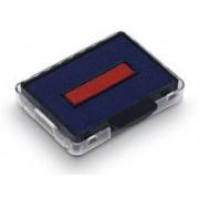 Trodat Dynkassett 6/50/2 blå/röd 2st/fp