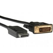 Kabel DP Male -> DVI-D Male, crna, 2m
