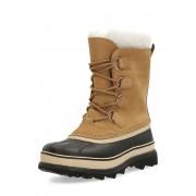 Sorel Snow-Boots Caribou, Leder, gefüttert, ocker braun